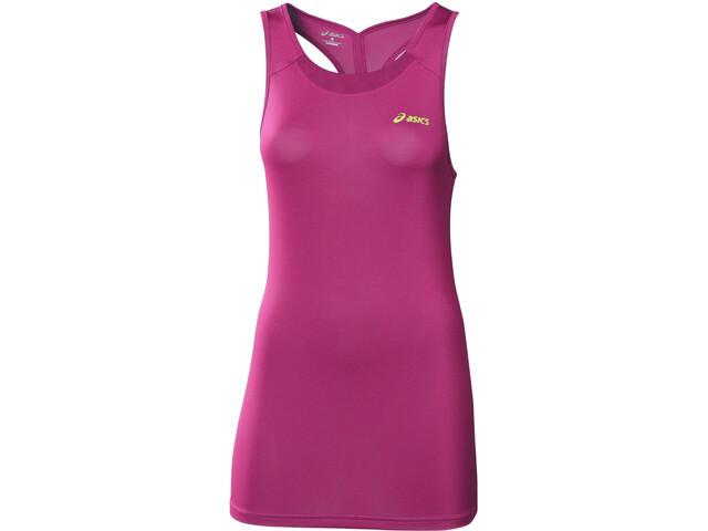 asics Fitness Koszulka do biegania bez rękawów Kobiety różowy